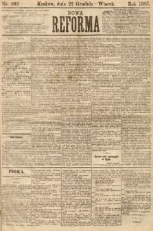 Nowa Reforma. 1885, nr292