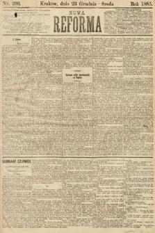 Nowa Reforma. 1885, nr293