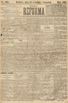 Nowa Reforma. 1885, nr298
