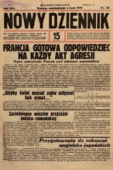 Nowy Dziennik. 1939, nr180