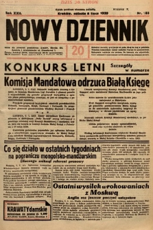 Nowy Dziennik. 1939, nr185
