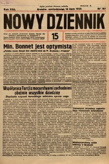 Nowy Dziennik. 1939, nr187