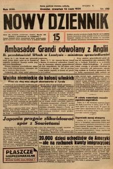 Nowy Dziennik. 1939, nr190