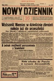 Nowy Dziennik. 1939, nr191