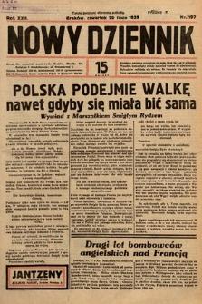 Nowy Dziennik. 1939, nr197