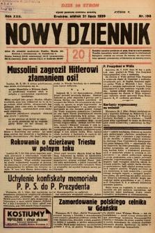 Nowy Dziennik. 1939, nr198
