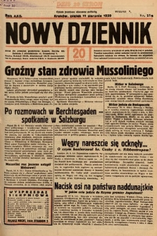 Nowy Dziennik. 1939, nr219