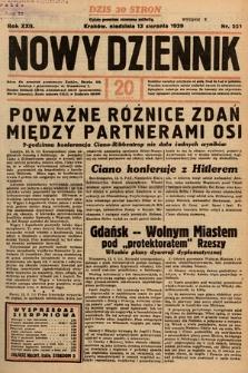 Nowy Dziennik. 1939, nr221