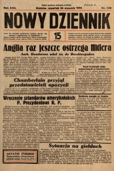 Nowy Dziennik. 1939, nr232
