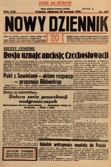 Nowy Dziennik. 1939, nr235