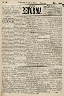 Nowa Reforma. 1883, nr151