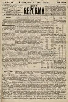Nowa Reforma. 1883, nr156 i157