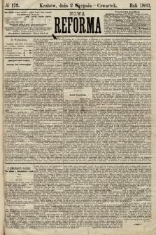 Nowa Reforma. 1883, nr173