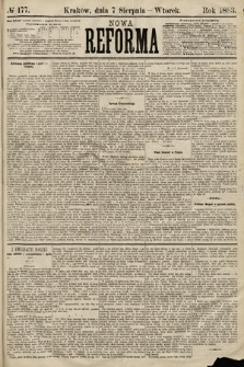 Nowa Reforma. 1883, nr177