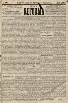 Nowa Reforma. 1883, nr182