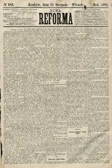 Nowa Reforma. 1883, nr183