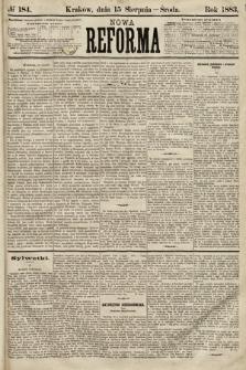 Nowa Reforma. 1883, nr184
