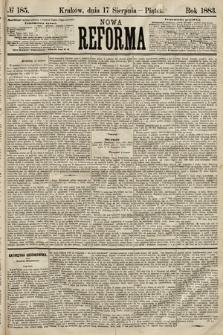 Nowa Reforma. 1883, nr185