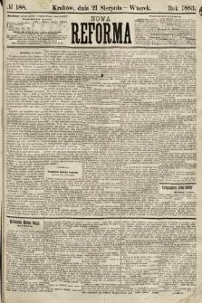 Nowa Reforma. 1883, nr188