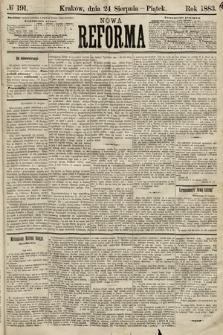 Nowa Reforma. 1883, nr191