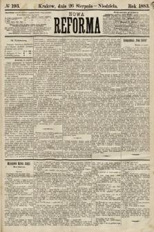 Nowa Reforma. 1883, nr193