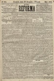 Nowa Reforma. 1883, nr194
