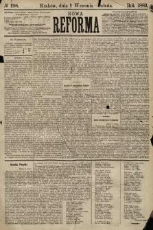 Nowa Reforma. 1883, nr198