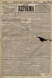Nowa Reforma. 1883, nr200