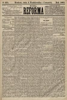 Nowa Reforma. 1883, nr225
