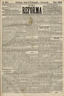 Nowa Reforma. 1883, nr254
