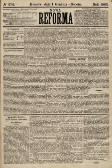 Nowa Reforma. 1883, nr274