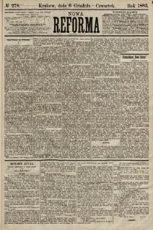 Nowa Reforma. 1883, nr278