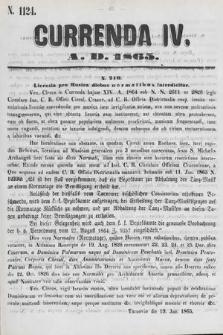 Currenda. 1865, kurenda4