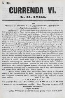 Currenda. 1865, kurenda6