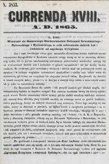 Currenda. 1865, kurenda18