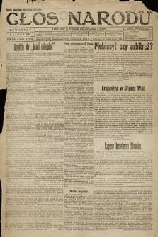 Głos Narodu. 1920, nr154