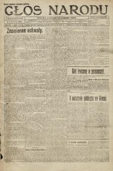 Głos Narodu. 1920, nr158