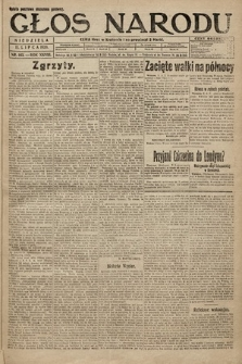 Głos Narodu. 1920, nr163