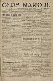 Głos Narodu. 1920, nr165