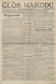 Głos Narodu. 1920, nr204