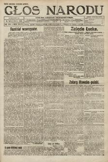 Głos Narodu. 1920, nr222