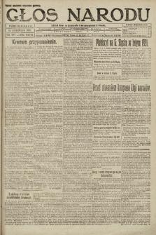 Głos Narodu. 1920, nr272