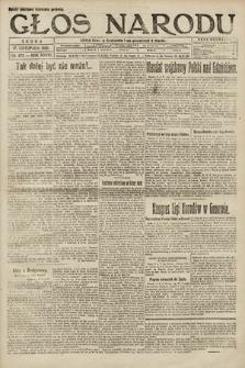 Głos Narodu. 1920, nr273