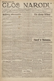 Głos Narodu. 1920, nr304