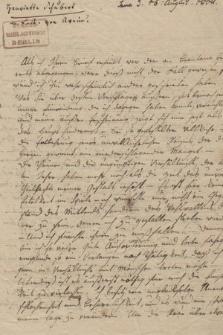 Autografy H. Schubart i inne materiały z nią związane