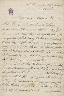 Listy hr. Jerzego Szembeka do Leonii Bobrowej i Michała Bobra