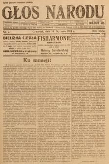 Głos Narodu. 1924, nr7