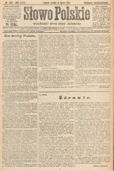 Słowo Polskie. 1921, nr292
