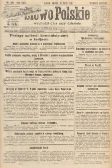 Słowo Polskie. 1921, nr309