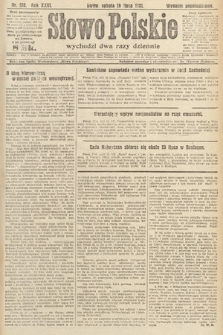 Słowo Polskie. 1921, nr310